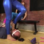 Bratprincess presents Amadahy, Edyn in Post Workout Trample Facesit Armpit Worship Plus Gym Fart