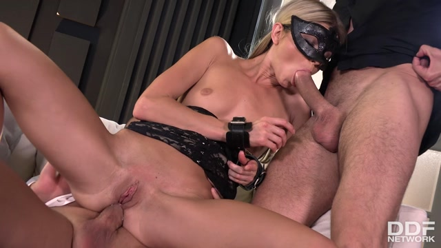 Watch Online Porn – DDFNetwork – HouseOfTaboo presents Gina Gerson in Masked Petite Double Penetrated – 20.10.2017 (MP4, FullHD, 1920×1080)