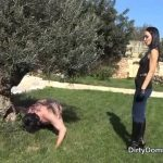 DirtyDommes presents Fetish Liza in Dirty dog training