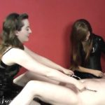 Divine Goddesses presents Porcelain Beauty, Mistress Mary Ann in Tickle Torment For Their Pathetic Slave