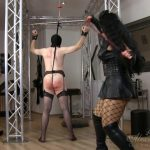 Goddess Alexandra Snow, Mistress Ezada in Whipping Beauties Part 1
