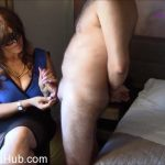 Masked Eva in Paint My Dress With Your Sperm
