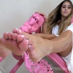 Princess Beverly in Enslaved By My Feet