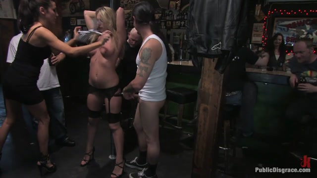 Watch Online Porn – PublicDisgrace presents Harmony Rose in The Business Suit And The Biker Bar (MP4, HD, 1280×720)