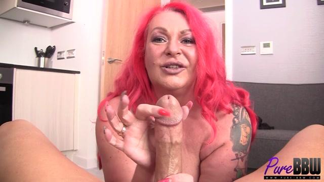 Watch Online Porn – Pure-bbw presents Bella Scarletta in mature British BBW sucks you off with gusto – 05.10.2017 (MP4, FullHD, 1920×1080)