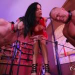 ClubDom presents Mistress Maria in Mistress Maria's Tug Of Balls