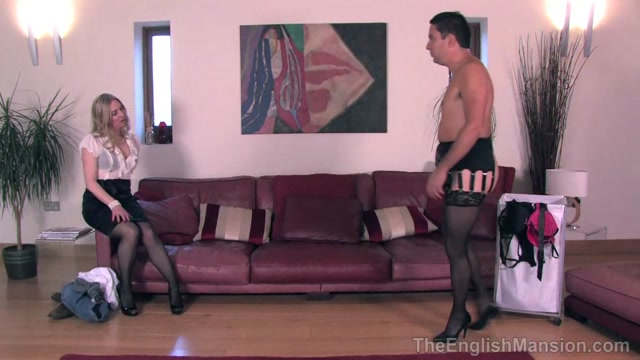 Watch Online Porn – TheEnglishMansion presents Mistress Sidonia in Crossdressing Her Husband Complete (MP4, HD, 1280×720)