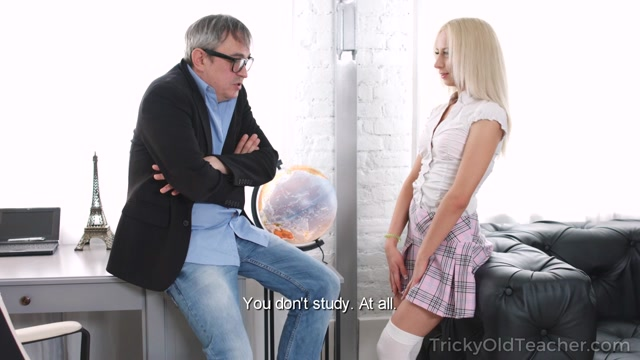 Watch Online Porn – TrickyOldTeacher presents TD Bambi aka Stefy Shee, Angela Bambi in Blondie rides her old teacher – 12.10.2017 (MP4, HD, 1280×720)