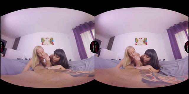 Watch Online Porn – Virtualrealporn presents Alba de Silva, Juan Lucho & Sicilia in Battleshots – 16.10.2017 (MP4, 2K UHD, 3200×1600)