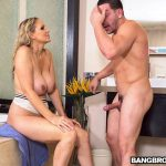 BangBros – BigTitsRoundAsses presents Julia Ann in Fucking The Stepson In The Shower – 19.10.2017