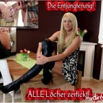 Mydirtyhobby presents Daynia – XXL Arschfick nach Entjungferung – XXL Arschfick after defloration! Sperm massacre!