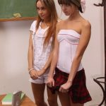 Teacher Punishes The Students Tiffany Doll, Gina Gerson, Leyla Black