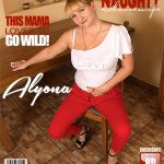 Mature.nl presents Alyona (35) in horny housewife fingering herself – 28.11.2017