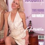 Mature.nl presents Artemia (45) in hot housewife Artemia fingering herself – 04.11.2017