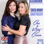 Mature.nl presents Cass (EU) (45), Kitty Cream (EU) (45) in British lesbian housewives Kitty Cream & Cass love fooling around – 24.11.2017