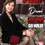 Mature.nl presents Demi (58) in American housewife Demi fingering herself – 03.11.2017