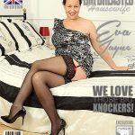 Mature.nl presents Eva Jayne (EU) (44) in British housewife Eva Jayne showing off her big tits – 11.11.2017