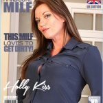 Mature.nl presents Holly Kiss (EU) (43) in British MILF Holly Kiss fucking and sucking – 15.11.2017