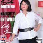 Mature.nl presents Lady Jane (EU) (63) in British curvy lady Jane playing with herself – 20.11.2017