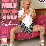 Mature.nl presents Rebecca (EU) (44) in Hot British MILF Rebecca playing with herself – 08.11.2017