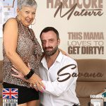 Mature.nl presents Savana (EU) (59) in British mature lady fucking and sucking – 28.11.2017