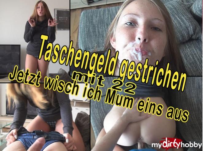 1_Mydirtyhobby_presents_CaroCream_-_Taschengeld_gestrichen_mit_22_-_Jetzt_wisch_ich_Mum_eins_aus_-_Pocket_money_deleted_with_22__Now_I_wipe_Mum_one_.jpg