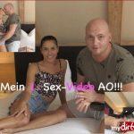 Mydirtyhobby presents Eveline-Dellei – Mein 1. Sex-Video AO