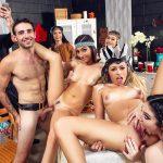 GFLeaks – DareDorm presents Jasmine Vega, Amilia Onyx, Zoe Clark in Dorm Room Fucksgiving – 17.11.2017