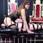 AstroDominavideos presents AstroDomina in BOUND, GAGGED, TEASED AND DENIED