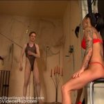 Ball Busting Chicks presents Abusing the slave boy