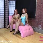 Brat Princess 2 presents Alexa, Amadahy in Domestic in Chastity Cleans Floors (Epilogue)