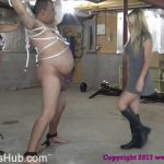 Brat Princess 2 presents Chloe, Sasha in Get Ready for your Daily 100 Ballkicks