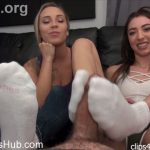 Clips4sale – Bratty Babes Own You presents Jessica Jones, Sasha Foxxx in Jessica Jones Sasha Ultimate Stinky Sock Footjob