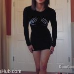 Cum Countdown presents Goddess Nikki in Look How Tight And Short This Dress Is