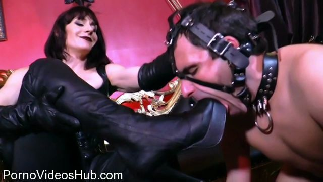 Watch Online Porn – Cybill Troy presents Goddess Andrea Untamed in Servicing Andreas Leather Boots (MP4, SD, 960×540)