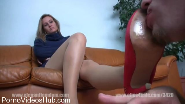 Watch Free Porno Online – Elegant Femdom presents Lady Demona in Shoe Clean Before Party (MP4, HD, 1280×720)
