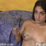 FacialAbuse – FaceFucking presents Violet Sky in They Are Happy Tears