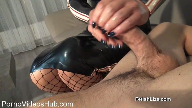 Watch Online Porn – Fetish Liza in Latex lovers slippery handjob (MP4, HD, 1280×720)