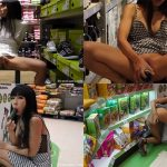 ManyVids Webcams Video presents Girl Littlesubgirl in Fucks Cucumber & Squirts in Supermarket