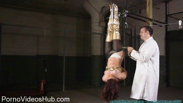 Watch Online Porn – FutileStruggles presents Fayth as The Golden Guardian Trapped, Captured, Stripped, Hung, mummified, De-masked – Part 1 (MP4, HD, 1280×720)
