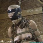 FutileStruggles presents Rachel Rides the Pony After being Crotch Chained – Part 4