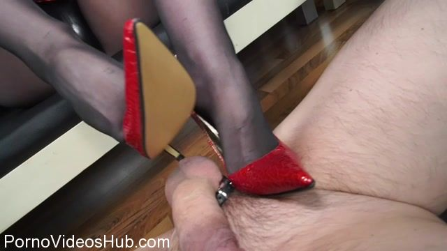 Watch Online Porn – German Femdom Lady Victoria Valente in Masterful Ruined Orgasm And Cum Eating With High Heels Fetish (MP4, HD, 1280×720)