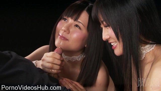 Watch Online Porn – HandjobJapan presents Mai Araki and Moeka Kurihara Tessing Handjob (MP4, FullHD, 1920×1080)