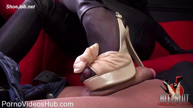 Watch Online Porn – Heel Slut presents Slut For Her New Nude Slingbacks (MP4, HD, 1280×720)