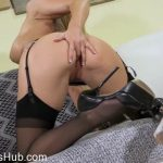Jbvideo presents CHRISTIE STEVENS in STOCKING TEASE