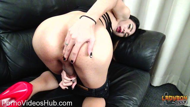 Watch Online Porn – Ladyboy.xxx presents Nes: Your Babe In Black! – 03.11.2017 (MP4, HD, 1280×720)