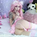 ManyVids Webcams Video presents Girl Kiittenymph in Neko SchoolGirl Anal CreamPie