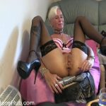 MyDirtyHobby presents lady-isabell666 in Giant dildo riding anal 3