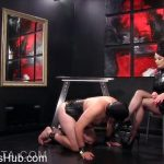 Obey Nikita presents Mistress Nikita in Suffer For My Hose and Heels