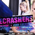 Virtualrealporn presents Juan Lucho & Lucia Fernandez in Gatecrashers – 10.11.2017